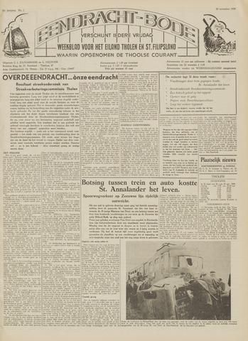 Eendrachtbode (1945-heden)/Mededeelingenblad voor het eiland Tholen (1944/45) 1959-11-20