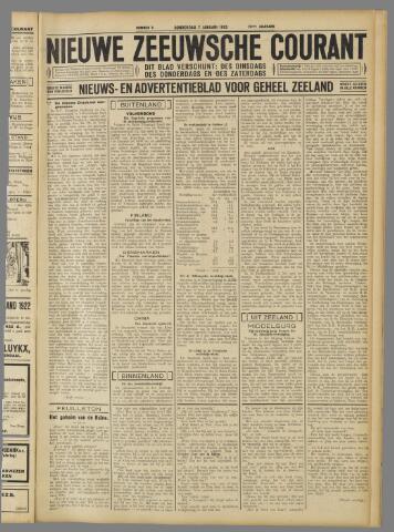 Nieuwe Zeeuwsche Courant 1932-01-07