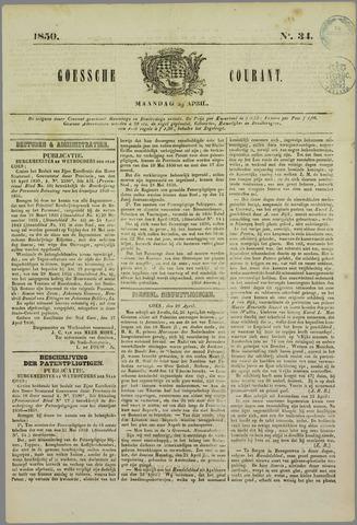 Goessche Courant 1850-04-29