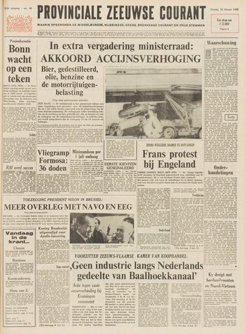 Provinciale Zeeuwse Courant 1969-02-25
