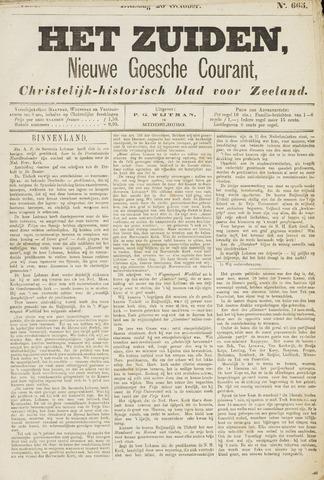 Het Zuiden, Christelijk-historisch blad 1880-10-26