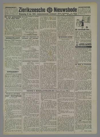 Zierikzeesche Nieuwsbode 1934-01-31