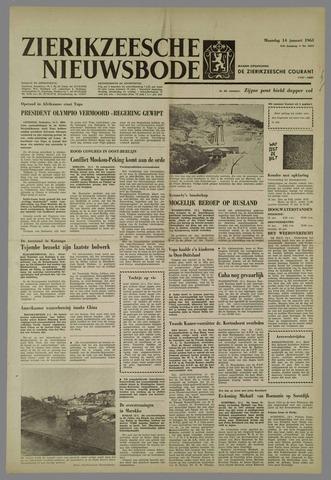 Zierikzeesche Nieuwsbode 1963-01-14
