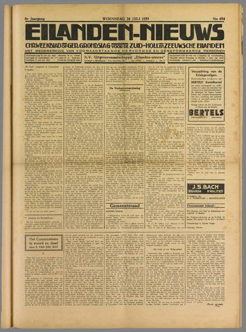 Eilanden-nieuws. Christelijk streekblad op gereformeerde grondslag 1935-07-24