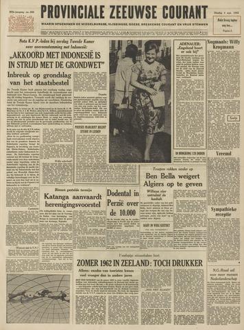 Provinciale Zeeuwse Courant 1962-09-04