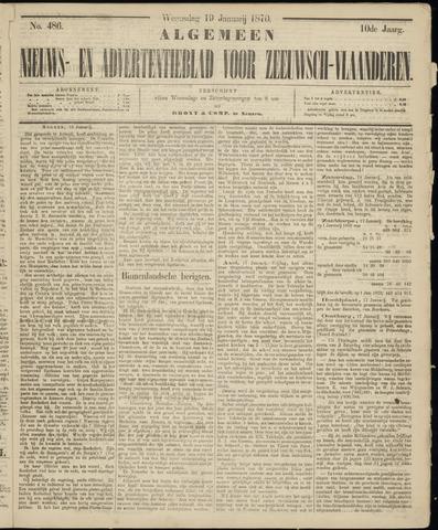Ter Neuzensche Courant. Algemeen Nieuws- en Advertentieblad voor Zeeuwsch-Vlaanderen / Neuzensche Courant ... (idem) / (Algemeen) nieuws en advertentieblad voor Zeeuwsch-Vlaanderen 1870-01-19