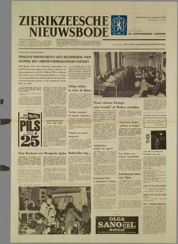 Zierikzeesche Nieuwsbode 1972-09-14