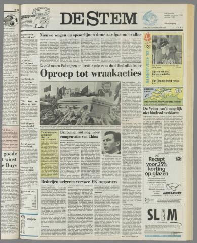 de Stem 1992-02-18