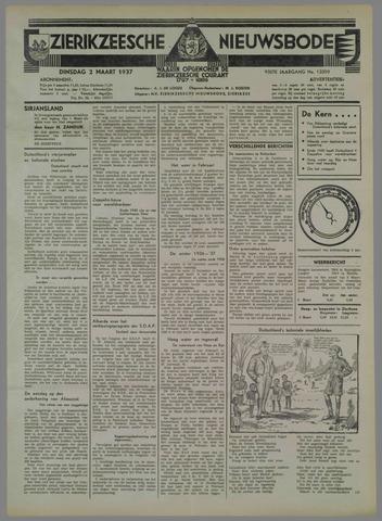 Zierikzeesche Nieuwsbode 1937-03-02