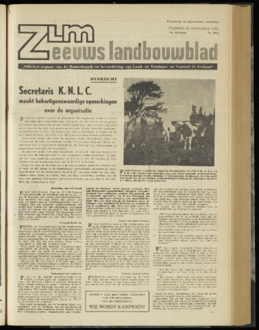 Zeeuwsch landbouwblad ... ZLM land- en tuinbouwblad 1962-08-31