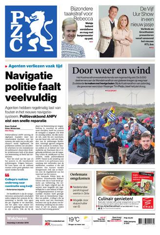 Provinciale Zeeuwse Courant 2016-10-03