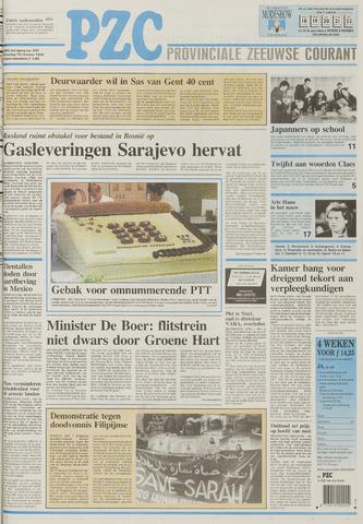 Provinciale Zeeuwse Courant 1995-10-10