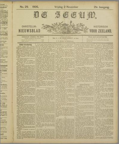 De Zeeuw. Christelijk-historisch nieuwsblad voor Zeeland 1906-11-02