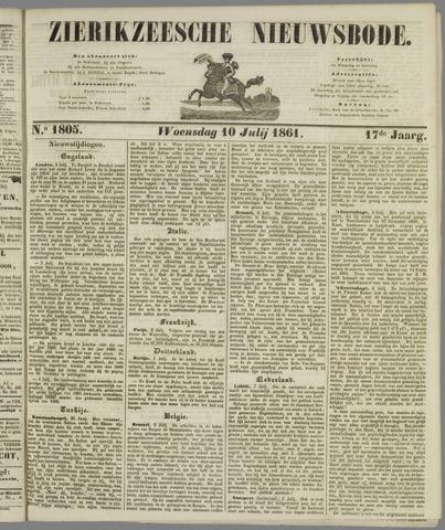 Zierikzeesche Nieuwsbode 1861-07-10