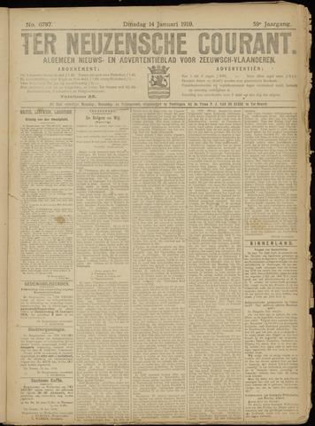 Ter Neuzensche Courant. Algemeen Nieuws- en Advertentieblad voor Zeeuwsch-Vlaanderen / Neuzensche Courant ... (idem) / (Algemeen) nieuws en advertentieblad voor Zeeuwsch-Vlaanderen 1919-01-14