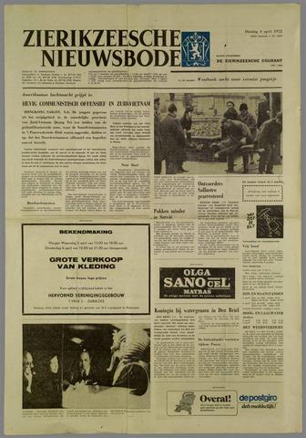 Zierikzeesche Nieuwsbode 1972-04-04