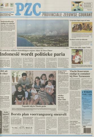Provinciale Zeeuwse Courant 1999-09-10