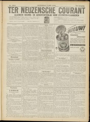 Ter Neuzensche Courant. Algemeen Nieuws- en Advertentieblad voor Zeeuwsch-Vlaanderen / Neuzensche Courant ... (idem) / (Algemeen) nieuws en advertentieblad voor Zeeuwsch-Vlaanderen 1939-05-17