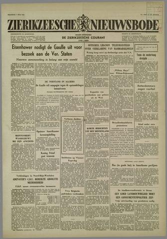 Zierikzeesche Nieuwsbode 1958-07-07