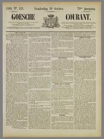 Goessche Courant 1883-10-18