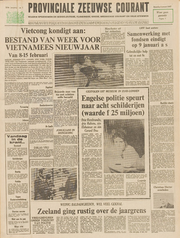 Provinciale Zeeuwse Courant 1967-01-02