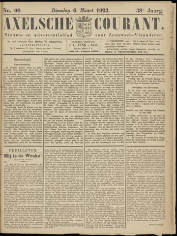 Axelsche Courant 1923-03-06