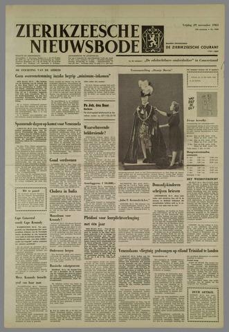 Zierikzeesche Nieuwsbode 1963-11-29