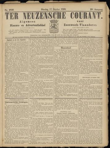 Ter Neuzensche Courant. Algemeen Nieuws- en Advertentieblad voor Zeeuwsch-Vlaanderen / Neuzensche Courant ... (idem) / (Algemeen) nieuws en advertentieblad voor Zeeuwsch-Vlaanderen 1899-10-17