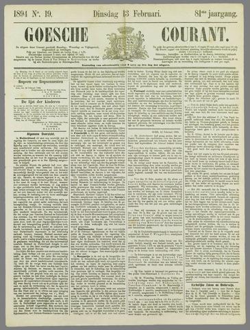 Goessche Courant 1894-02-13