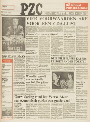 Provinciale Zeeuwse Courant 1976-04-12
