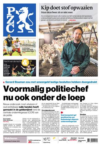 Provinciale Zeeuwse Courant 2016-10-27