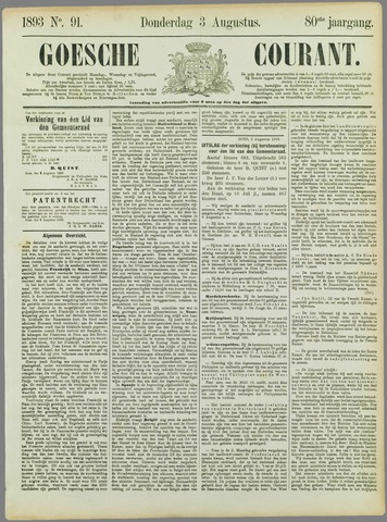 Goessche Courant 1893-08-03