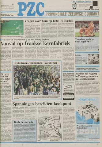 Provinciale Zeeuwse Courant 1993-01-18
