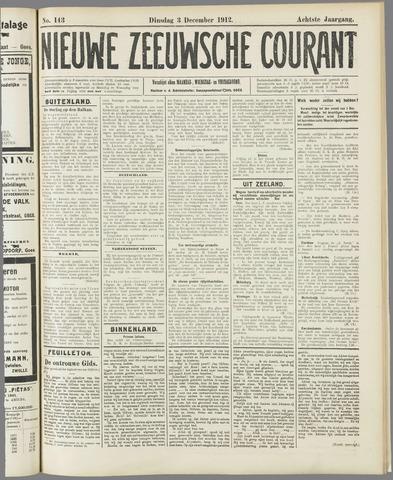 Nieuwe Zeeuwsche Courant 1912-12-03