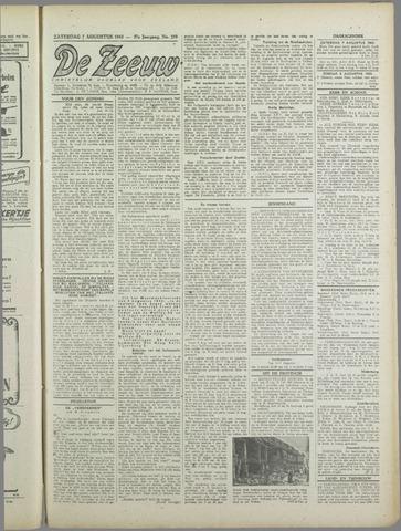 De Zeeuw. Christelijk-historisch nieuwsblad voor Zeeland 1943-08-07