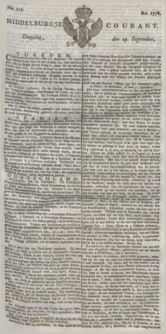 Middelburgsche Courant 1778-09-29