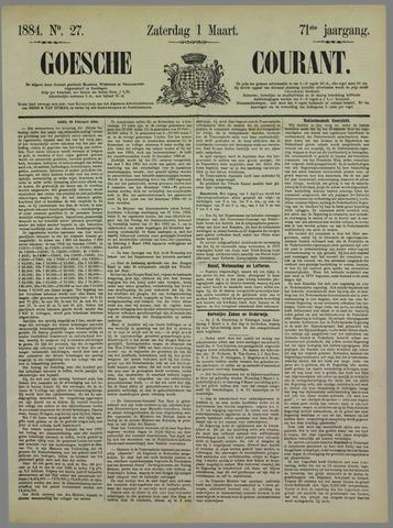 Goessche Courant 1884-03-01