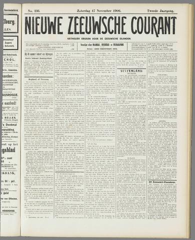 Nieuwe Zeeuwsche Courant 1906-11-17