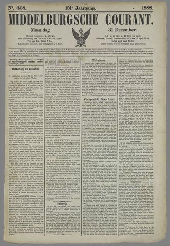 Middelburgsche Courant 1888-12-31