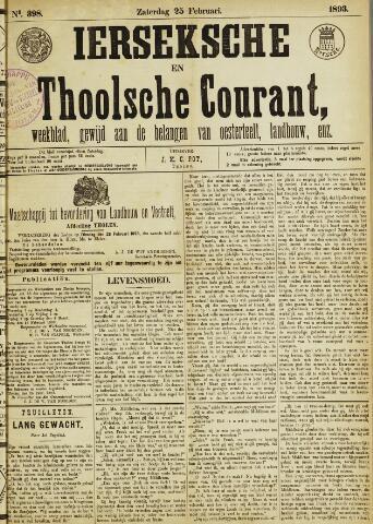 Ierseksche en Thoolsche Courant 1893-02-25