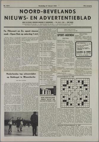 Noord-Bevelands Nieuws- en advertentieblad 1986-02-27