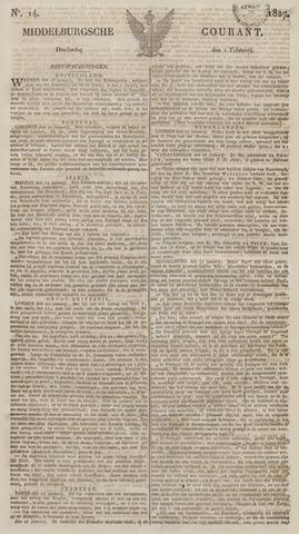 Middelburgsche Courant 1827-02-01