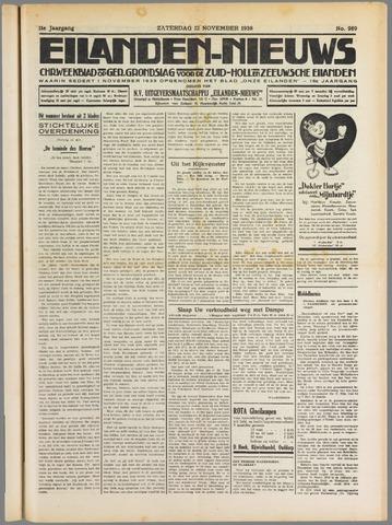 Eilanden-nieuws. Christelijk streekblad op gereformeerde grondslag 1938-11-12