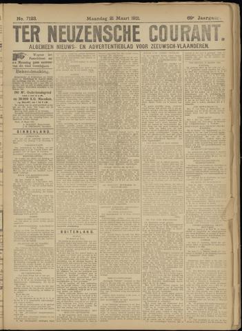 Ter Neuzensche Courant. Algemeen Nieuws- en Advertentieblad voor Zeeuwsch-Vlaanderen / Neuzensche Courant ... (idem) / (Algemeen) nieuws en advertentieblad voor Zeeuwsch-Vlaanderen 1921-03-21
