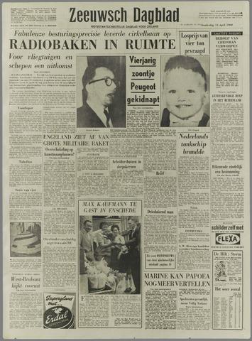 Zeeuwsch Dagblad 1960-04-14