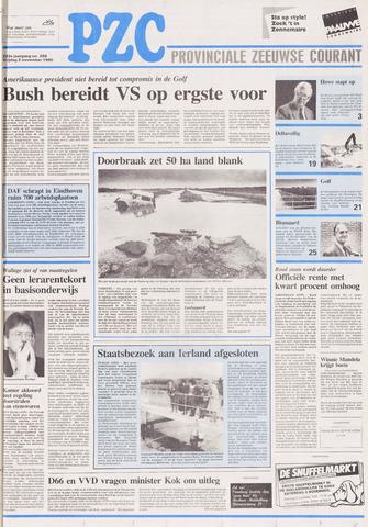 Provinciale Zeeuwse Courant 1990-11-02