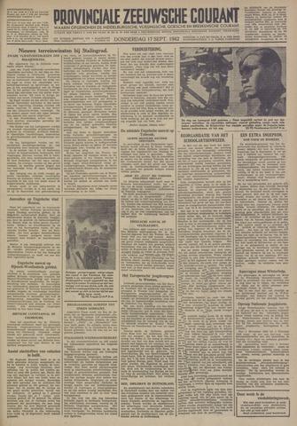 Provinciale Zeeuwse Courant 1942-09-17