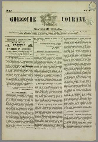 Goessche Courant 1852-01-26