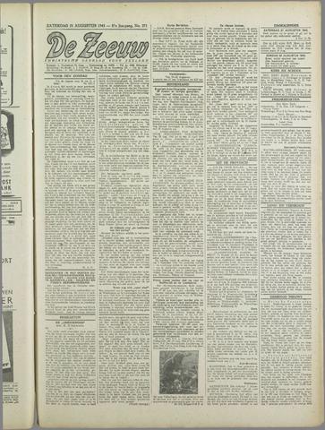 De Zeeuw. Christelijk-historisch nieuwsblad voor Zeeland 1943-08-21