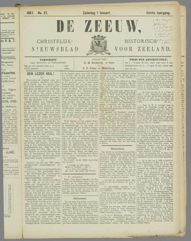 De Zeeuw. Christelijk-historisch nieuwsblad voor Zeeland 1887